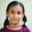 Beautiful Indian little girl — Stock Photo