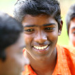 Group of Indian teen boys — Stockfoto