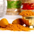 Stock Photo: Turmeric powder