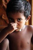 Cute indian little boy — Stock Photo