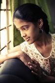 Indian beautiful teen girl — Stock Photo