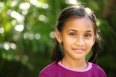 Beautiful Indian little girl — Stock Photo