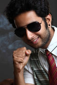 Handsome Indian young man — Stock Photo