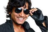 Retrato de hombre joven indio — Foto de Stock