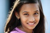Indian teen girl — Stock Photo