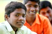 Group of Indian teen boys — Stock Photo