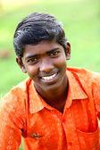 Indian teen boy smiling — Stock Photo