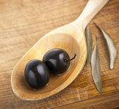Black olives — Stock Photo