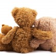 Three teddy bears — Stock Photo