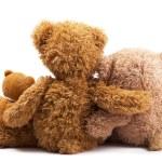 Three teddy bears — Stock Photo