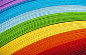 Rainbow paper — Stock Photo
