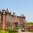 Stately home in Cheshire, England — 图库照片