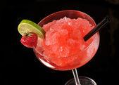 Strawberry margarita cocktail — Stock Photo