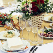 Restourant's table - Stock Photo