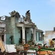 House damaged by disaster — Stock Photo #11520256