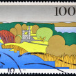 GERMANY- CIRCA 1995: A stamp printed in Germany shows Havel River, Berlin, circa 1995. — Stock Photo