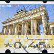 Royalty-Free Stock Photo: GERMANY - CIRCA 2009: A stamp printed in Germany showing Brandenburg Gate, Berlin, circa 2009.