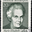 GERMANY - CIRCA 1969: A stamp printed in Germany shows Marie Elisabeth Lüders, circa 1969 — Stock Photo