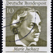 GERMANY - CIRCA 1969: A stamp printed in Germany shows Marie Juchaz, circa 1969 — Stock Photo