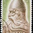 SPAIN - CIRCA 1962: a stamp printed in Spain shows El Cid Campeador (Rodrigo Diaz de Vivar), Spain's National Hero, circa 1962 — Stock Photo
