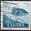 SPAIN - CIRCA 1969: A stamp printed in Spain shows Gibraltar, circa 1969 — Stock Photo