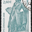 SPAIN - CIRCA 2008: A stamp printed in Spain shows monument to Francisco de Goya y Lucientes, circa 2008 - Stock Photo