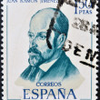 SPAIN - CIRCA 1970: A stamp printed in Spain shows Juan Ramon Jimenez, circa 1970 — Stock Photo