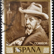Royalty-Free Stock Photo: SPAIN - CIRCA 1964: A stamp printed in spain shows Sorolla, circa 1964