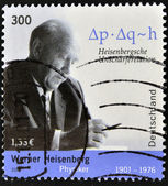 GERMANY - CIRCA 2001: A stamp printed in Germany shows Werner Heisenberg, circa 2001 — Stock Photo