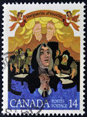 CANADA - CIRCA 1978: stamp printed Canada shows Mere Youville, circa 1978 — Stock Photo
