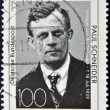 GERMANY- CIRCA 1989: stamp printed in Germany shows Paul Schneider Prussian pastor circa 1989 — Lizenzfreies Foto