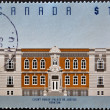 CANADA - CIRCA 1994: stamp printed in Canada shows Court House, Yorkton, circa 1994 — Stock Photo #11015484