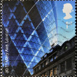 Royalty-Free Stock Photo: UNITED KINGDOM - CIRCA 2006: A stamp printed in Great Britain shows 30st Mary Axe, London, circa 2006