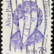 UNITED STATES OF AMERICA - CIRCA 1995: A stamp printed in USA shows Alice Paul, sufragist, circa 1995 — Stock Photo
