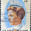 Stock Photo: UNITED STATES OF AMERIC- CIRC1976: stamp printed in USshows ClarMass, she gave her life, circ1976