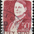 UNITED STATES OF AMERICA - CIRCA 1968: stamp printed in USA shows Lucy Stone, circa 1968 — Photo