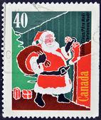 CANADA - CIRCA 2004: A stamp printed in Canada shows image of Santa Claus, circa 2004 — Stock Photo