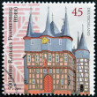 GERMANY -CIRCA 2009: A stamp printed in Germany shows City town hall in Germany, circa 2009. — Stock Photo