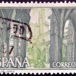 SPAIN - CIRCA 1967: A stamp printed in Spain shows Charterhouse of Jerez, Cádiz, circa 1967 — Stock Photo