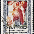 FRANCE - CIRC1951: stamp printed in France shows Saint Nicholas, French national museum of imagery, circ1951 — Stock Photo #11244843