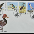 GREECE - CIRC1979: Collection stamps dedicated to birds, circ1979 — Stock Photo #11244871