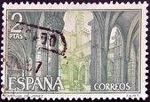SPAIN - CIRCA 1967: A stamp printed in Spain shows Charterhouse of Jerez, Cádiz, circa 1967 — Photo