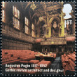 Stock Photo: UNITED KINGDOM - CIRC2012: stamp printed in Great Britain shows Interior of House of Lords, Augustus Pugin, circ2012
