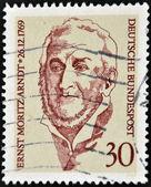 Alemanha-por volta de 1979 carimbo impresso pela alemanha, mostra ernst moritz arndt, por volta de 1979 — Foto Stock