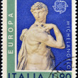 ITALY - CIRC1974: stamp printed in Italy shows David, Miguel Anguel Renaissance sculpture, circ1974 — Stock Photo #11611438