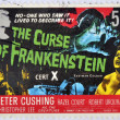 UNITED KINGDOM - CIRCA 2008: A stamp printed in Great Britain shows the curse of Frankenstein, circa 2008 - Stock Photo