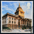 UNITED KINGDOM - CIRCA 2012: A stamp printed in Great Britain shows Old Bailey, circa 2012 - Stock Photo