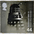 UNITED KINGDOM - CIRCA 1999: A stamp printed in Great Britain shows Doctor Who, Dalek, circa 1999 — Stock Photo