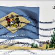 UNITED STATES OF AMERICA - CIRCA 2008: A stamp printed in USA dedicated to Delaware, circa 2008 — Stock Photo