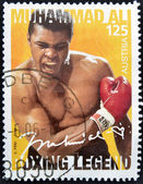 AUSTRIA - CIRCA 2006: A stamp printed in austria shows Muhammad Ali, circa 2006 — Stockfoto